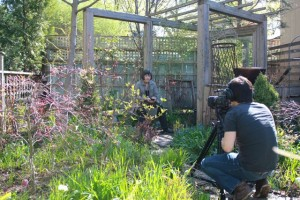 Shooting video for Globe and Mail